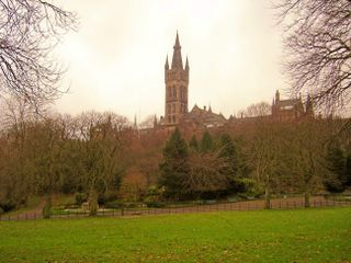 Glasgow-university-outside-kelvingrove
